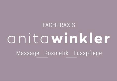 Fachpraxis Anita Winkler inverse Logo Ri