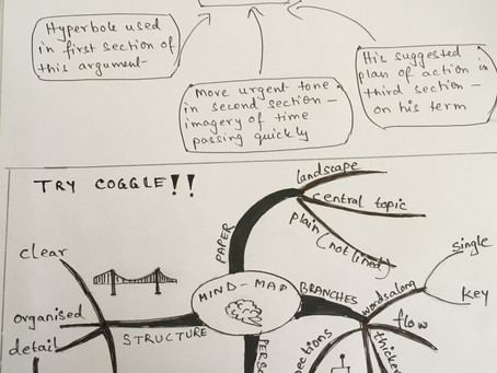Mind Maps - the most useful tool for Literature Essays!