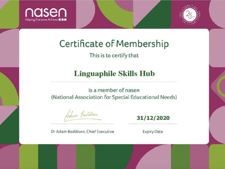 National Association for Special Educational Needs (NASEN), UK Membership