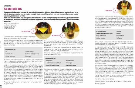 Nota sobre coctelería by Rodrigo Mulet para BK Mag #67.