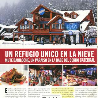 Mute Bariloche (Revista Caras)