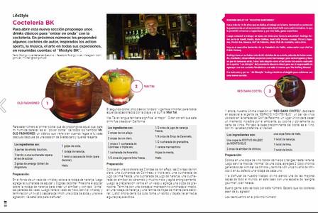 Nota sobre coctelería by Rodrigo Mulet para BK Mag #62.
