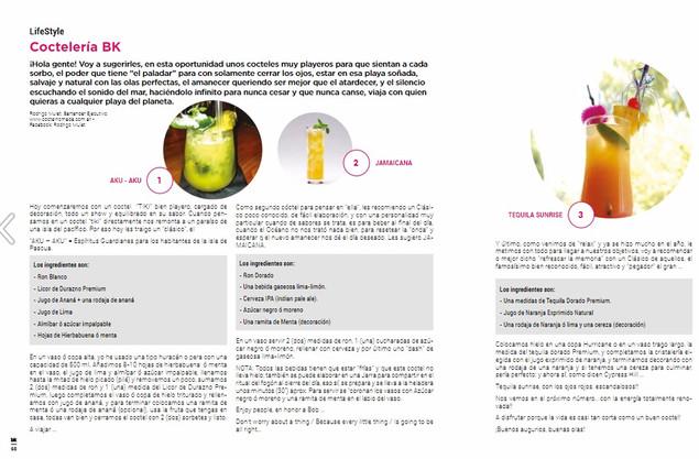 Nota sobre coctelería by Rodrigo Mulet para BK Mag #66.