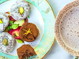 חרובים, קוסמטיקה של תאי גזע צמחיים ושל 'סופר פוד', מתכון 'רו-פוד' לעוגיות חרוב וקצת על ארבעת המינים