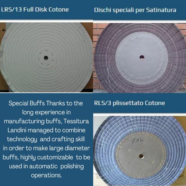 Discos de Polimento Especiais / Tessitura Landini