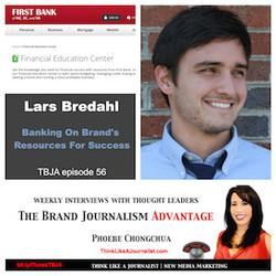 Brand Journalism Advantage Interview