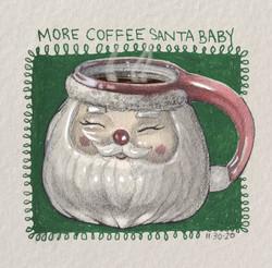 Santa coffee1