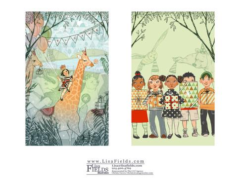 Lisa Fields Illustration
