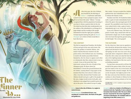 Athena vs Poseidon for Dig Magazine