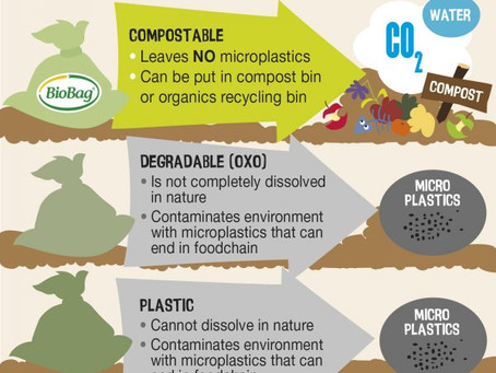 MISLEADING 'DEGRADABLE' AND 'BIODEGRADABLE' BAGS