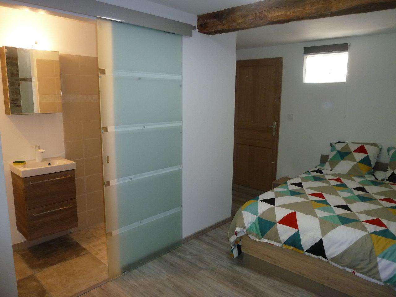 La chambre Nord avec salle d'eau