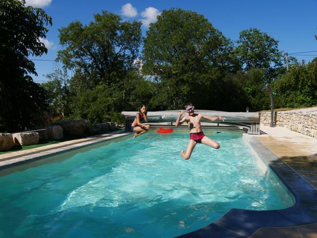 Plaisirs de baignade