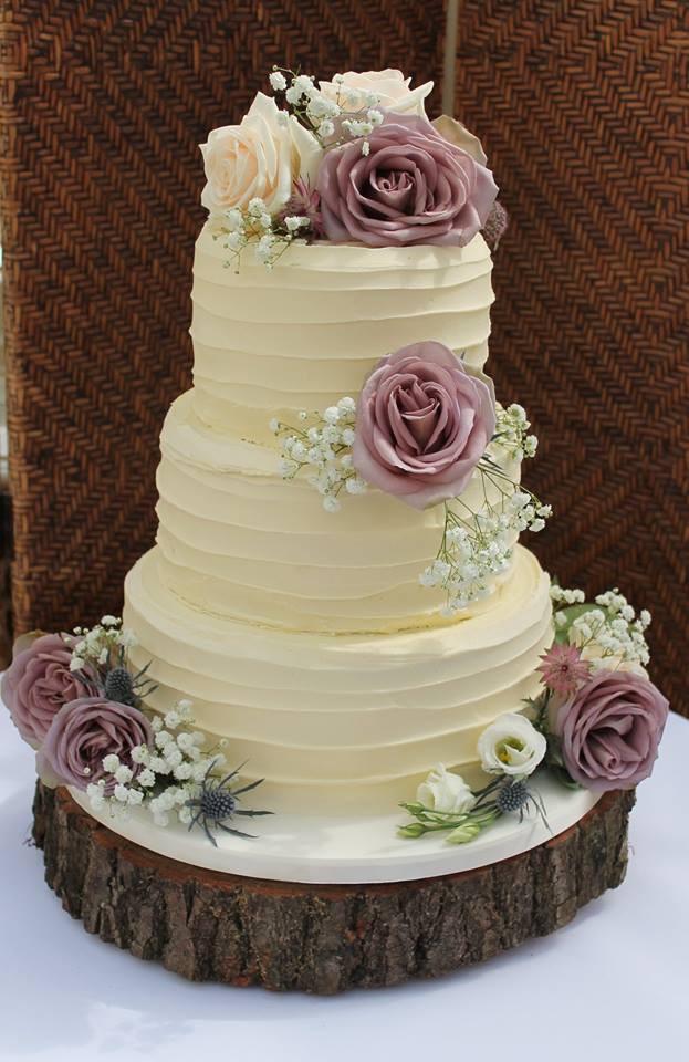 Buttercream Wedding Cakes.Rustic Buttercream Wedding Cake