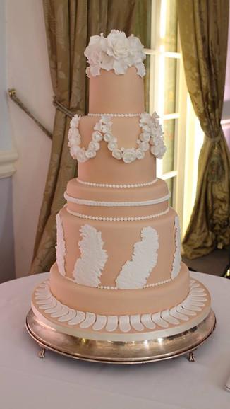 Wedgewood Wedding Cake