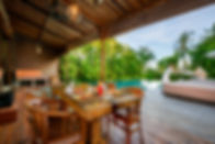 9. Villa Shalimar - Cantik - Poolside di