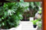 23-Baan Surin Sawan - External garden.jp