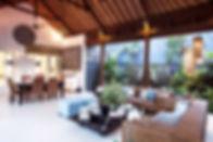 6. Lakshmi Villas Ubud - Semi outdoor li