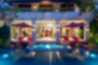 16-Kalimaya IV - Exterior villa night.jp