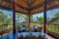 12-Taman Ahimsa - Upstairs living balcon