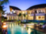 15-Villa Umah Daun - Lights at dusk.jpg