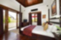 Villa Kalimaya IV - Upstairs guest bedro