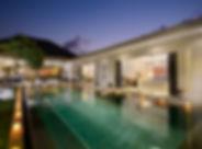 Villa Kyah - The villa at dusk .jpg