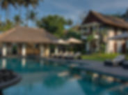 1. Seseh Beach Villa I - Pool and poolsi