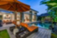 Villa Aramanis - Indah - Sunloungers by