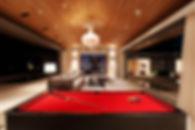 7. Villa Tievoli - Living room by night.