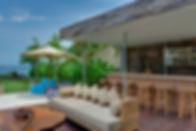 04-Villa Asada - Poolside bar and lounge