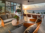 22. Malaiwana Duplex - Sunset view from