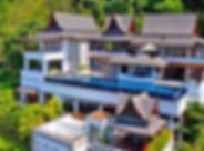 17 Villa Yang Som Phuket - Aerial Shoot.