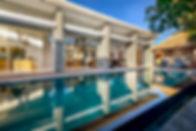 Villa Aramanis - Manis - Pool and villa.