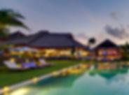 15. Chalina Estate - Pool and villa at d