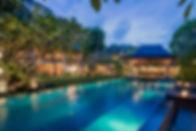20. Villa Ramadewa - Pool and villa at n