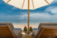 7. Villa Batujimbar - Sun loungers on th