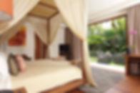 10. Villa Sarasvati - Guest bedroom terr