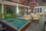6. Villa Avalon Main House - Pool table.