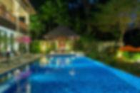31-Villa Shinta Dewi Ubud - Night time a