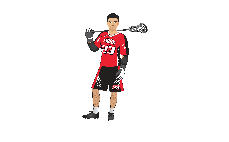 LA Sport lacrosse personnalisé