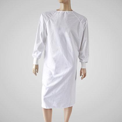 blouse de protection lavable, protective washable gown, hospital gown, robe d'hôpital, hopital quebec, médical fait au quebec