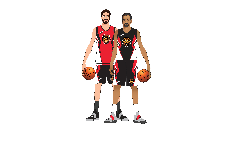 LA Sport basketball personnalisé