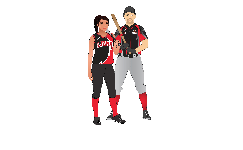 LA Sport baseball personnalisé