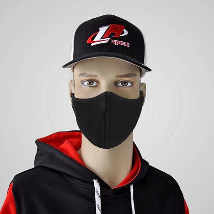 masque noir, masque lavable, black washable mask, black mask, fabric mask, masque en tissu, corona face virus mask
