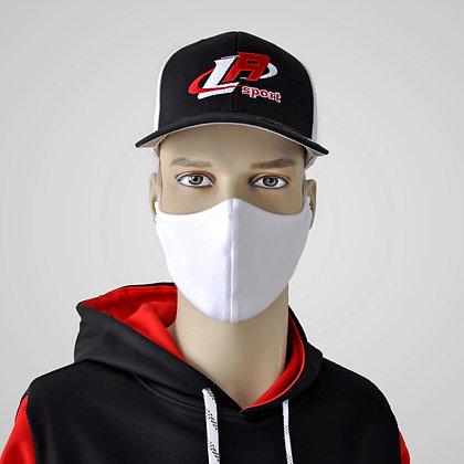 masque blanc, masque lavable, white washable mask, white mask, fabric mask, masque en tissu, corona face virus mask