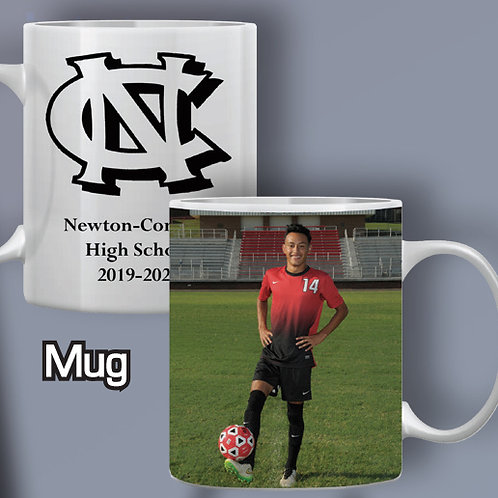 K - Photo Sports Mug
