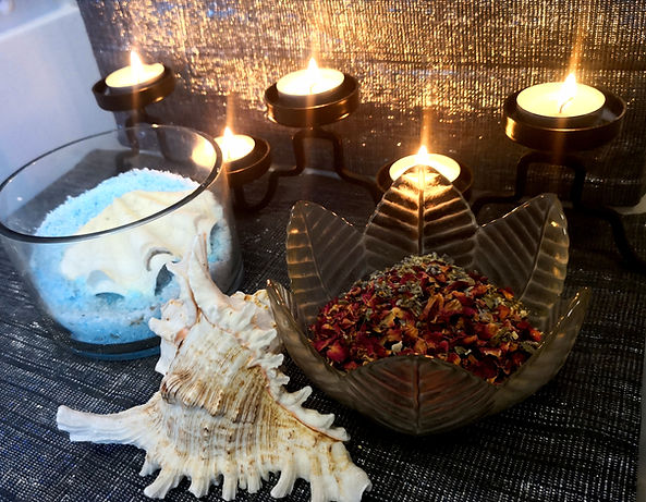 Kalmatherapies Candles & Purifying Salt