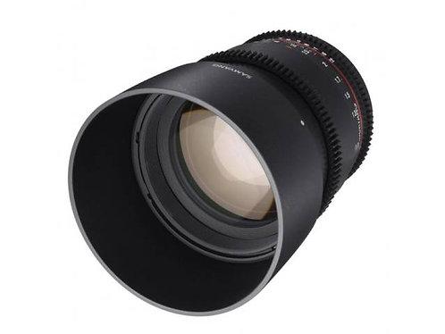 Objectif SAMYANG 85mm T1.5