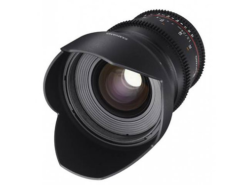 Objectif SAMYANG 24mm T1.5