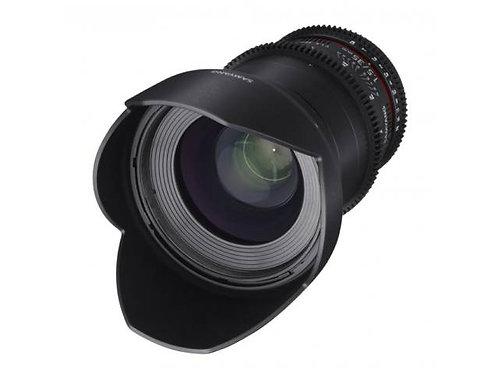 Objectif SAMYANG 35mm T 1.5
